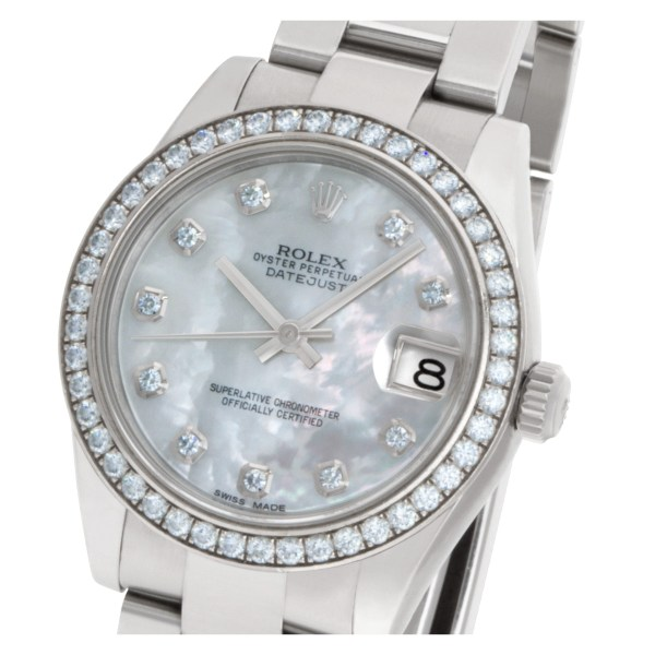 Rolex Datejust 178384 Stainless Steel Mother of Pearl dial 32mm Automatic watch