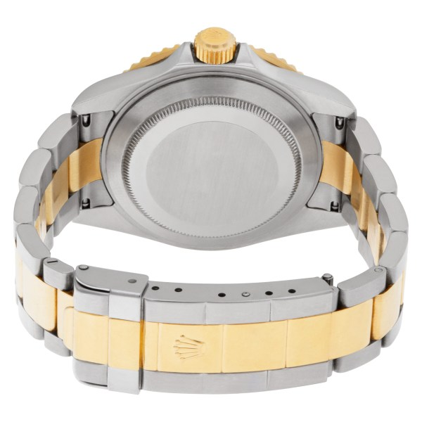 Rolex Submariner 16613 Stainless Steel Gold dial 40mm Automatic watch