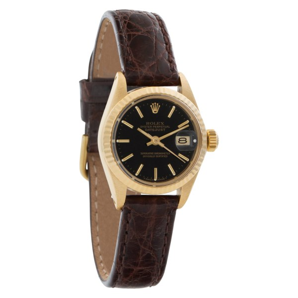 Rolex Datejust President 6917 18k Black dial 26mm Automatic watch