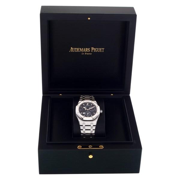 "Audemars Piguet Royal Oak ""Dual Time Power Reserve"" 26120ST.OO.1220ST.03 Stainle"