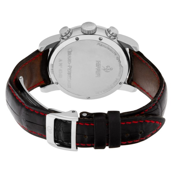Girard Perregaux Ferrari 8020 Stainless Steel Red dial 38mm Automatic watch