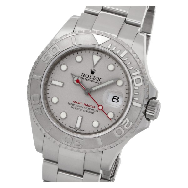 Rolex Yacht-Master 16622 Stainless Steel Silver dial 40mm Automatic watch
