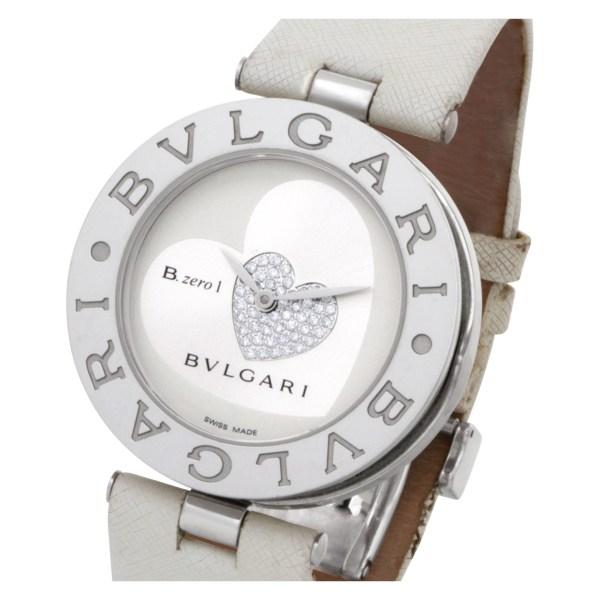 Bvlgari B Zero 1 BZ 35 S Stainless Steel White & Silver dial 35mm Quartz watch