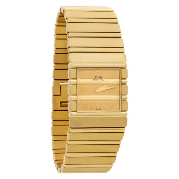 Piaget Polo 7131 C701 18k Gold dial mm Quartz watch