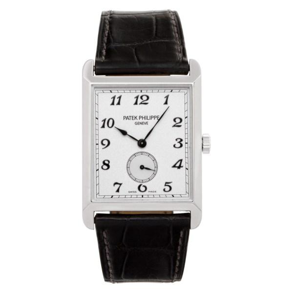 Patek Philippe Gondolo 5109 18k White Gold Silver dial 30mm Manual watch