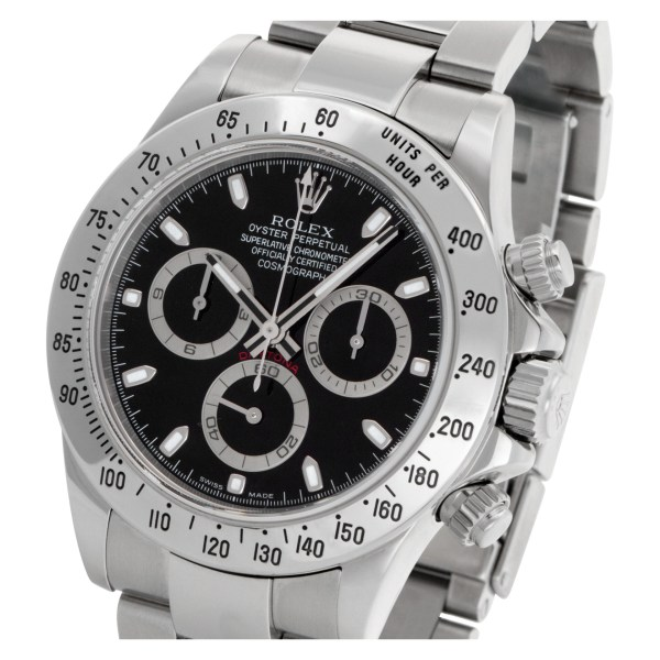 Rolex Daytona 116520 Stainless Steel Black dial 40mm Automatic watch