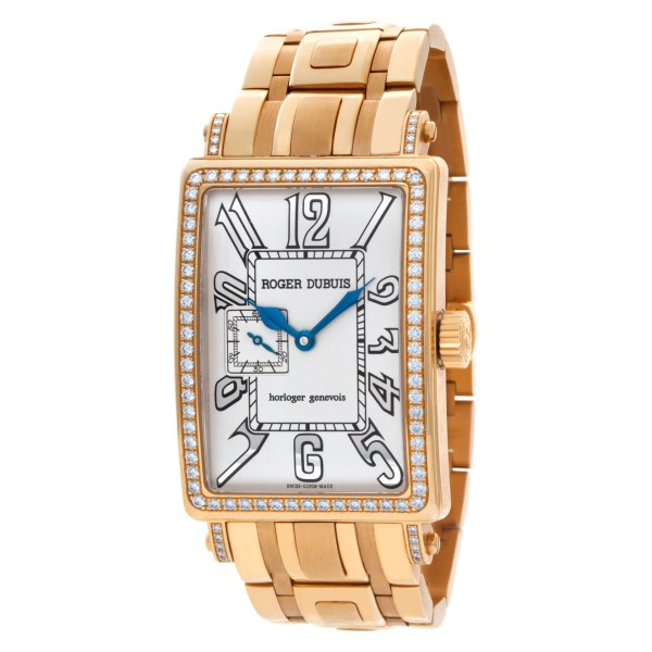 Roger Dubuis Much More M32 18k rose gold Off White dial 32mm Manual watch