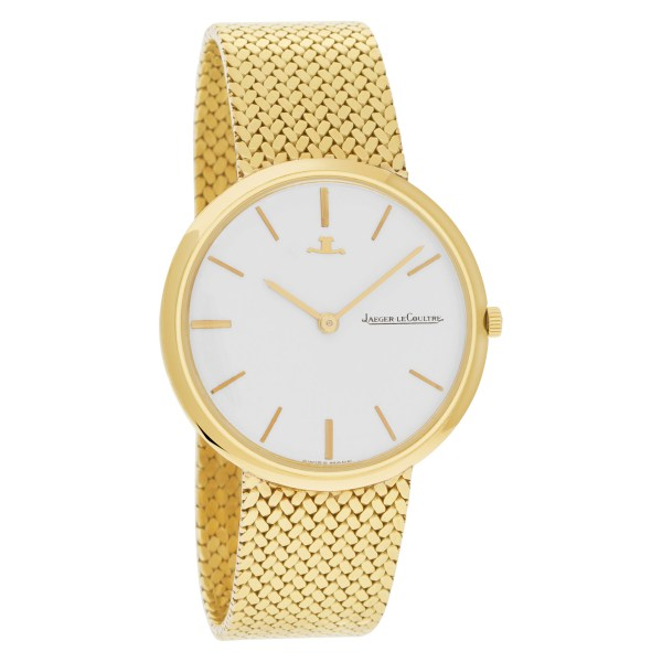 Jaeger LeCoultre Classic 899587 18k White dial 34mm Manual watch