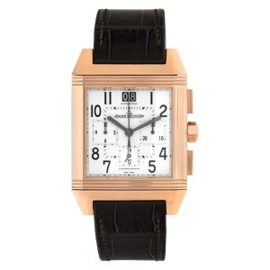 Jaeger LeCoultre Reverso 230.2.45 18k rose gold 35mm auto watch