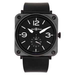 Bell & Ross BR S Ceramic Matte stainless steel 39mm Quartz watch