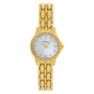 Movado Classic 5890639 14k 22mm Quartz watch