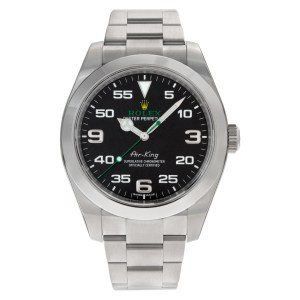 Rolex Air King 116900 stainless steel 40mm auto watch