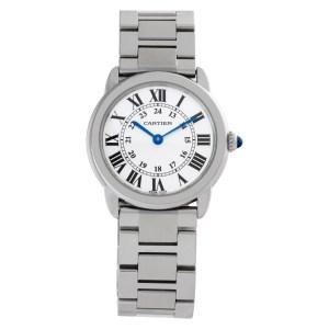 Cartier Ronde Solo W6701004 stainless steel 29mm Quartz watch