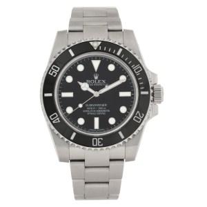 Rolex Submariner No Date 114060 stainless steel 40mm auto watch