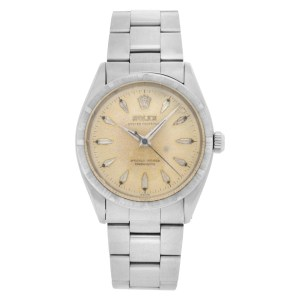 Rolex Oyster Perpetual 6569 stainless steel 34mm auto watch