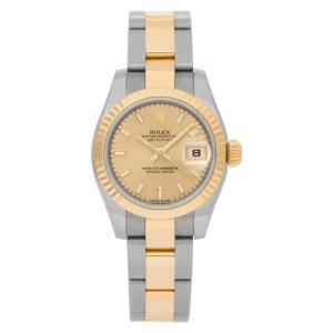 Rolex Datejust 179173 18k & steel 26mm auto watch
