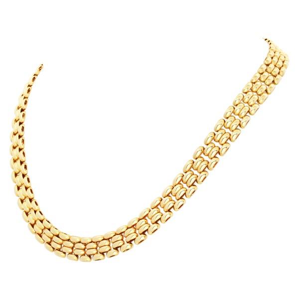 Link necklace in 18k