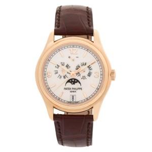 Patek Philippe Annual Calendar 5146R 18k rose gold 39mm auto watch