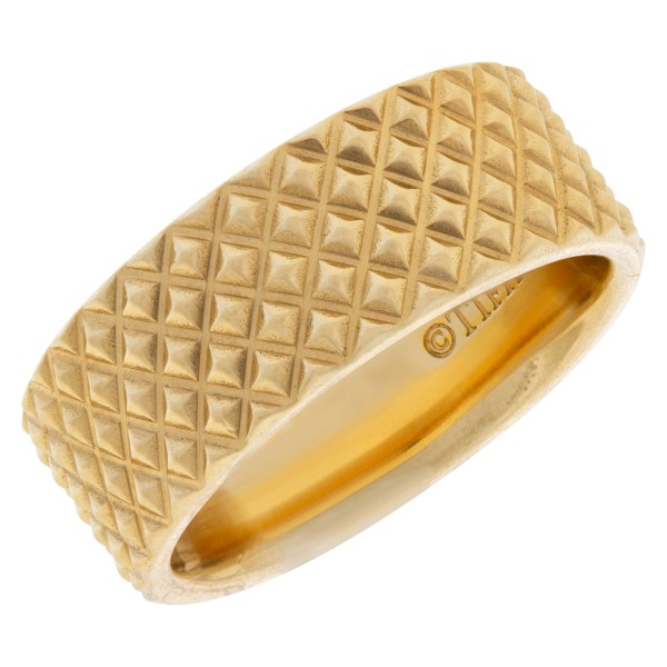 Tiffany & Co. 18k Gold Studded 7mm Band