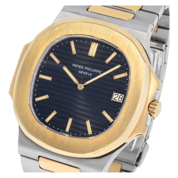 Patek Philippe Nautilus 3700/11 18k & steel 42mm auto watch