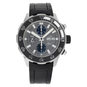IWC Aquatimer IWC376706 stainless steel 45mm auto watch