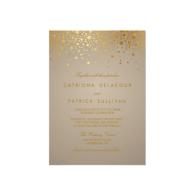 faux_gold_foil_confetti_dots_wedding_invitation-161645879102012418