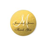 gold_black_wedding_favor_sticker_initial-217157608287457078