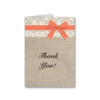 ivory_lace_burlap_and_coral_thank_you_card-137300458630088023