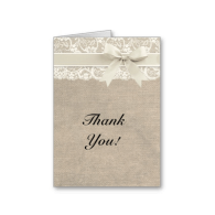 ivory_lace_burlap_look_thank_you_card-137871584301018346