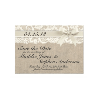 ivory_lace_burlap_wedding_save_the_date_invitation-161727504137965590