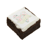 modern_floral_heart_wedding_square_brownie-256552883532577485