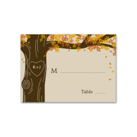 oak_tree_fall_wedding_flat_place_cards_business_card-240623476063041489