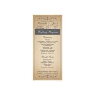 vintage_wedding_ticket_program_rack_card-245826810961166764