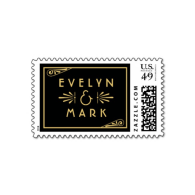 wedding_monogram_postage_stamp_art_deco_style-172026673005351402