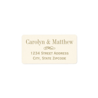 return_address_label_antique_gold_scroll-106272045295125474