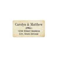 return_address_labels_vintage_parchment_style-106384232884200855