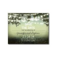 romantic_night_lights_modern_save_the_date_postcard-239555172203758685