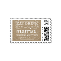 rustic_burlap_eat_drink_be_married_wedding_postage-172761001164022964