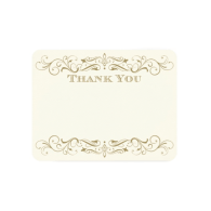 wedding_thank_you_card_antique_gold_flourish_invitation-161108538472175712