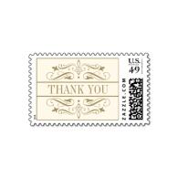 wedding_thank_you_stamp_antique_gold_flourish-172744716033938772