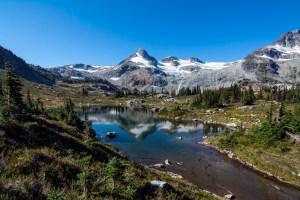 Hiking to Alpine Lake in Whistler BC