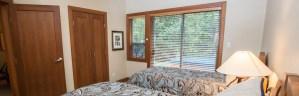 Luxury Whistler Rental Master Bedroom