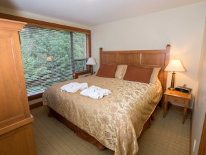 Luxury Whistler Rental at Montebello Master Bedroom