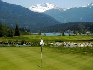 Whistler Golfing on Green Lake at Nicklaus North