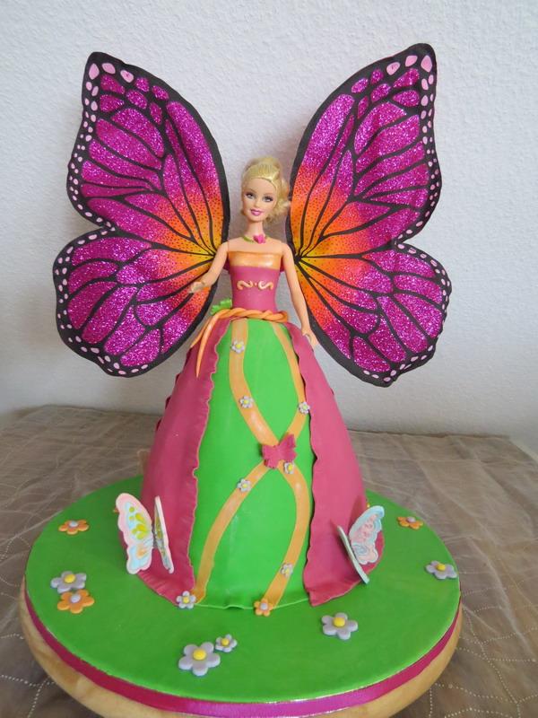PrinzessinBarbie Torte  LUXUSTorten