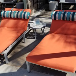 Lounge Chairs (2 Chairs): Utopian Summer