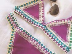 Pink Kiini Crochet Bikini