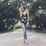 Floral Cami from Equipment – A Favorite Fall Wardrobe Essential