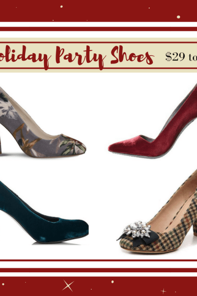 50 Festive Holiday Party Shoes, from $29 to $1,000+