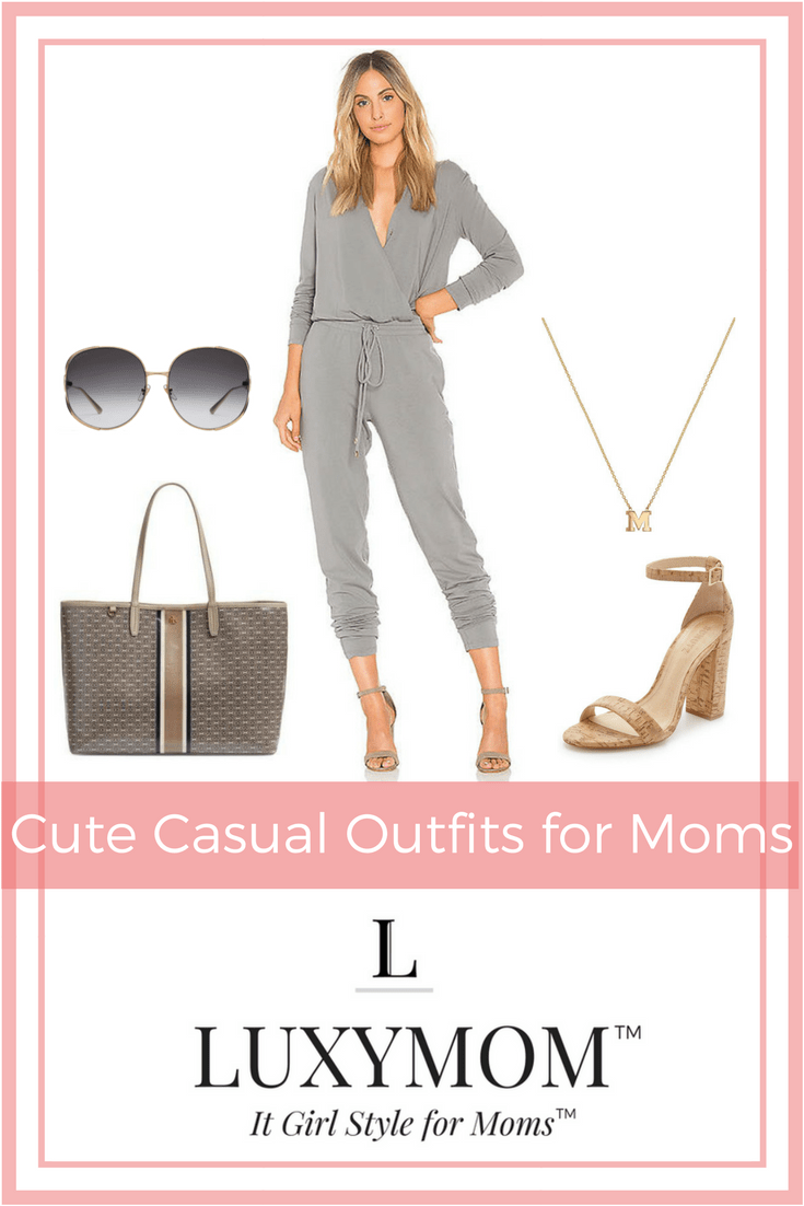 Cute Casual Outfits for Moms - LUXYMOM™ Blog Post - Pinterest